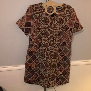 Quilted retro dress